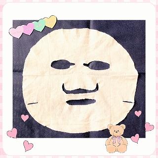 フェイスマスク 白のルルルンのシート