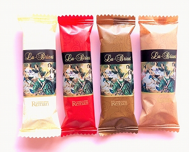 レーマンのチョコレート菓子 ルーブリアン4種類
