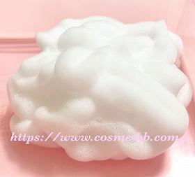 プリモディーネ炭酸泡洗顔料の泡 6時間半経過した泡