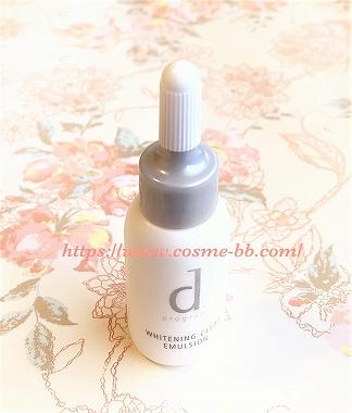 dプログラム ホワイトケアの敏感肌用乳液 ホワイトニング クリアエマ