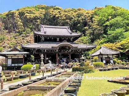 三室戸寺の本堂