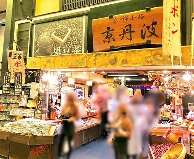 錦市場のお店 京丹波
