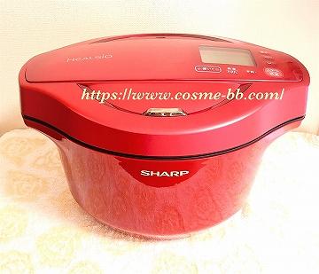 シャープ ヘルシオのホットクック(水なし自動調理鍋)