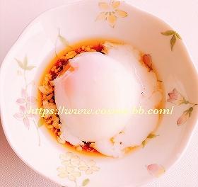 ホットクックで作った温泉卵
