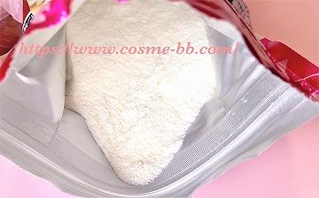 アサヒ パーフェクトアスタコラーゲンパウダーの粉