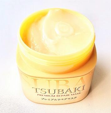 TSUBAKI プレミアムリペアマスク(ヘアパック)のテクスチャー