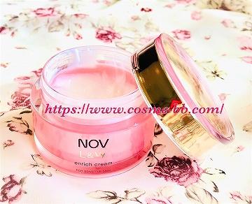 NOV(ノブ)L&W エンリッチクリーム 超敏感肌の私に合う美白クリーム