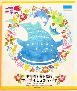 沖縄美ら海水族館 マーブルショコラパイ