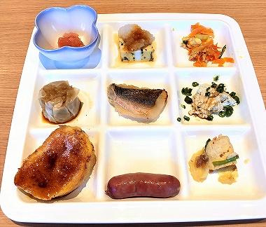 ホテルオリオンモトブリゾート&スパの朝食バイキング料理
