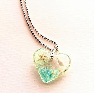 Splash ベビーシェルネックレス 貝と星砂のネックレス