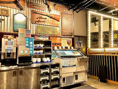 アメリカンビレッジ ステーキハウス88 アイスクリーム 食べ放題