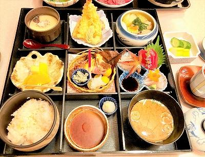 日本料理レストラン「富士」のメニュー 松花堂