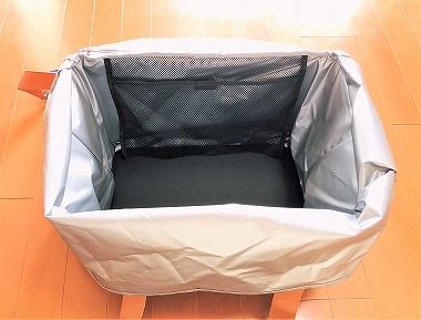 THERMOS(サーモス)レジかご保冷バッグの内側