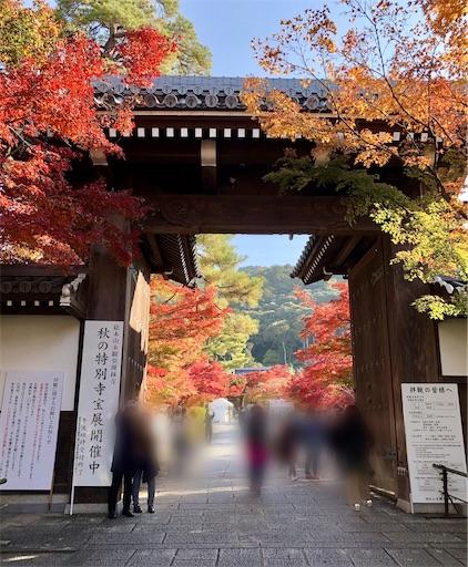 永観堂の入り口