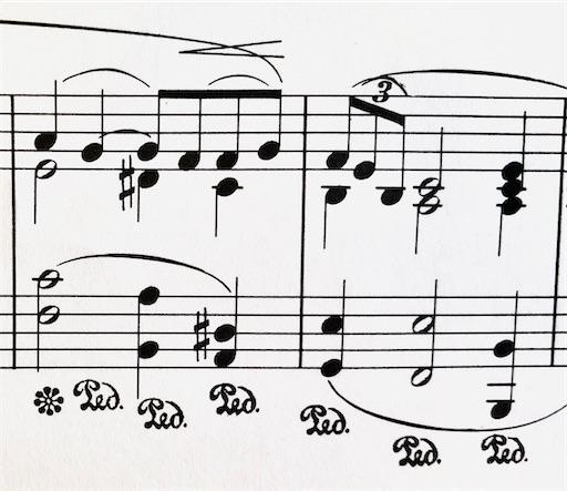 ドビュッシー アラベスク1番のピアノ練習