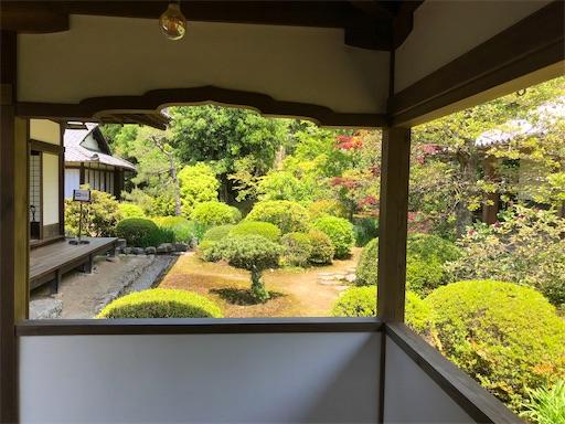 5月の随心院 庭園の新緑