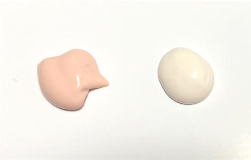 ラロッシュポゼのUV化粧下地 ホワイトとローズ