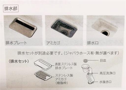 スゴピカ素材のラクするーシンクは排水口の見た目が清潔感があってキレイ