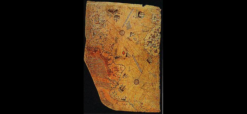 ピリ・レイスの地図はUFOが関与していた❗️🛸 - 👽アブダクション ...