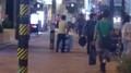 [twitter] @KR_Tokyo こんな感じで、みちゆく人にひたすら声をかけている