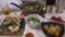 鱈ちりとお寿司とぶり大根と漬けマグロとビールと日本酒だわ!