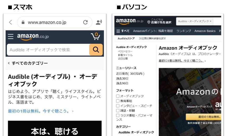 Amazonオーディブル価格の高い順で本を探すサイト01