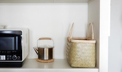 1LDKのキッチン収納・食器棚