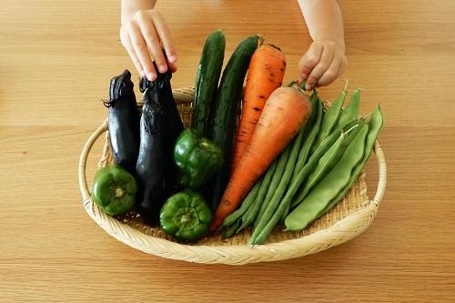 マンションのご近所付き合い野菜のおすそ分け