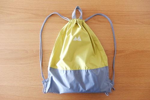 プールバッグはスタンプル防水撥水ナップサック