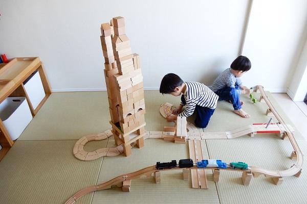 2歳と4歳の兄弟の作品