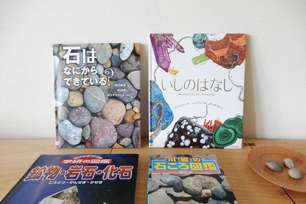 石の本たち