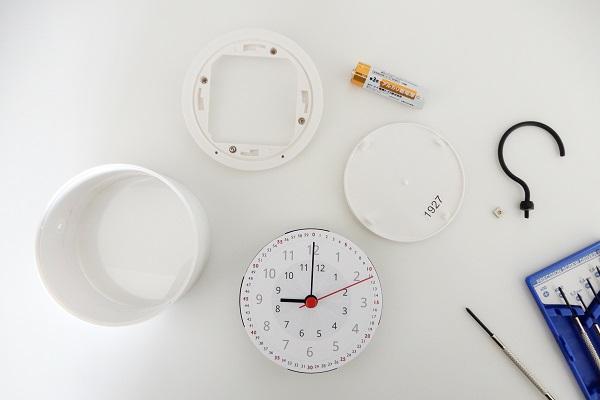 IKEA時計を知育時計にDIY