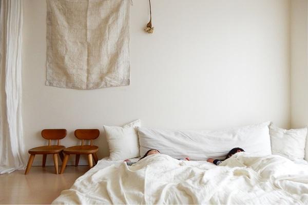 1LDKのお昼寝風景