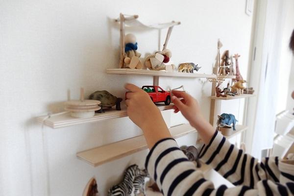 IKEAの棚をリメイク