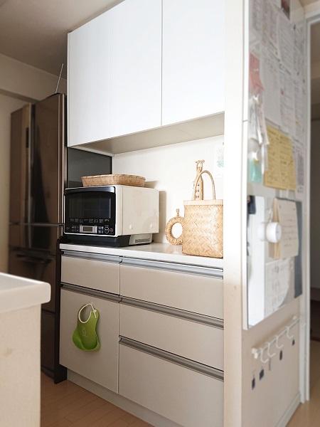 1LDKのキッチン収納