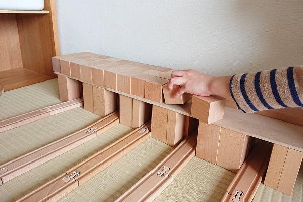 長板で屋根作り