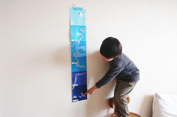 折り紙で深海魚表