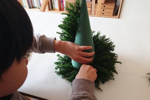 テーブルツリー作り