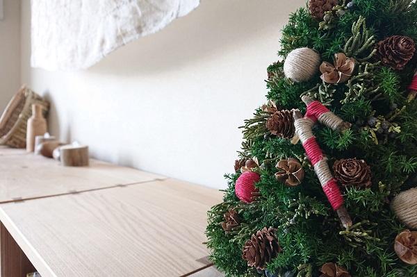 クリスマス手作りテーブルツリー
