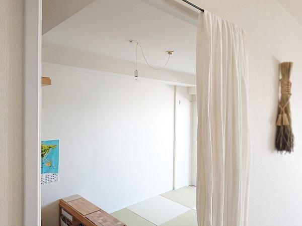 居室のシンプル照明