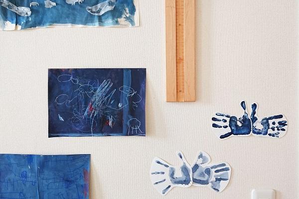 子どもと手形アート