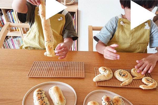 パンミックスでパン作り