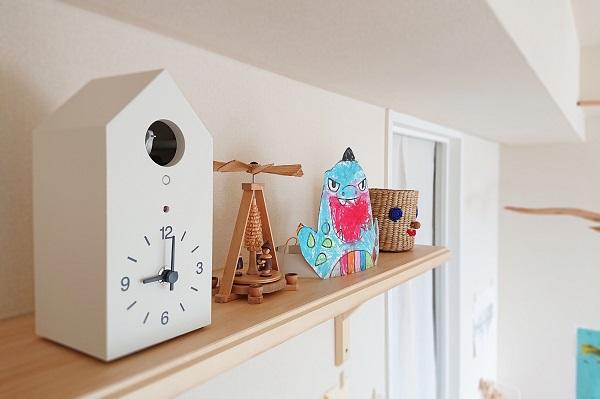 子どもの時間管理に鳩時計