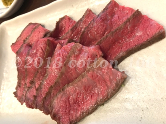 肉山おおみやの熊本産赤毛牛のシンシン