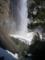 Upper Yosemite Fallにかかる虹