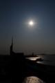 福岡タワーの日没