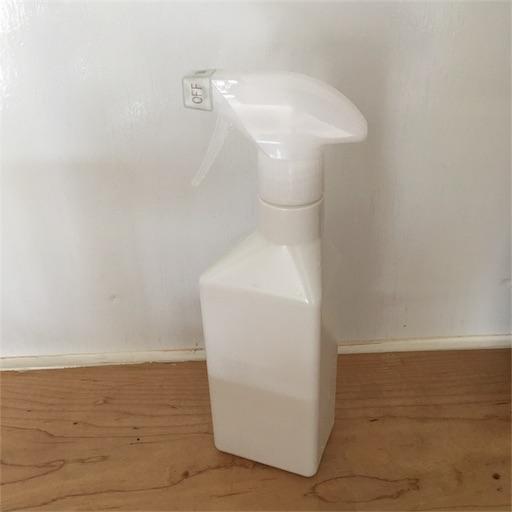 無印良品 スプレーボトル 電解水クリーナー