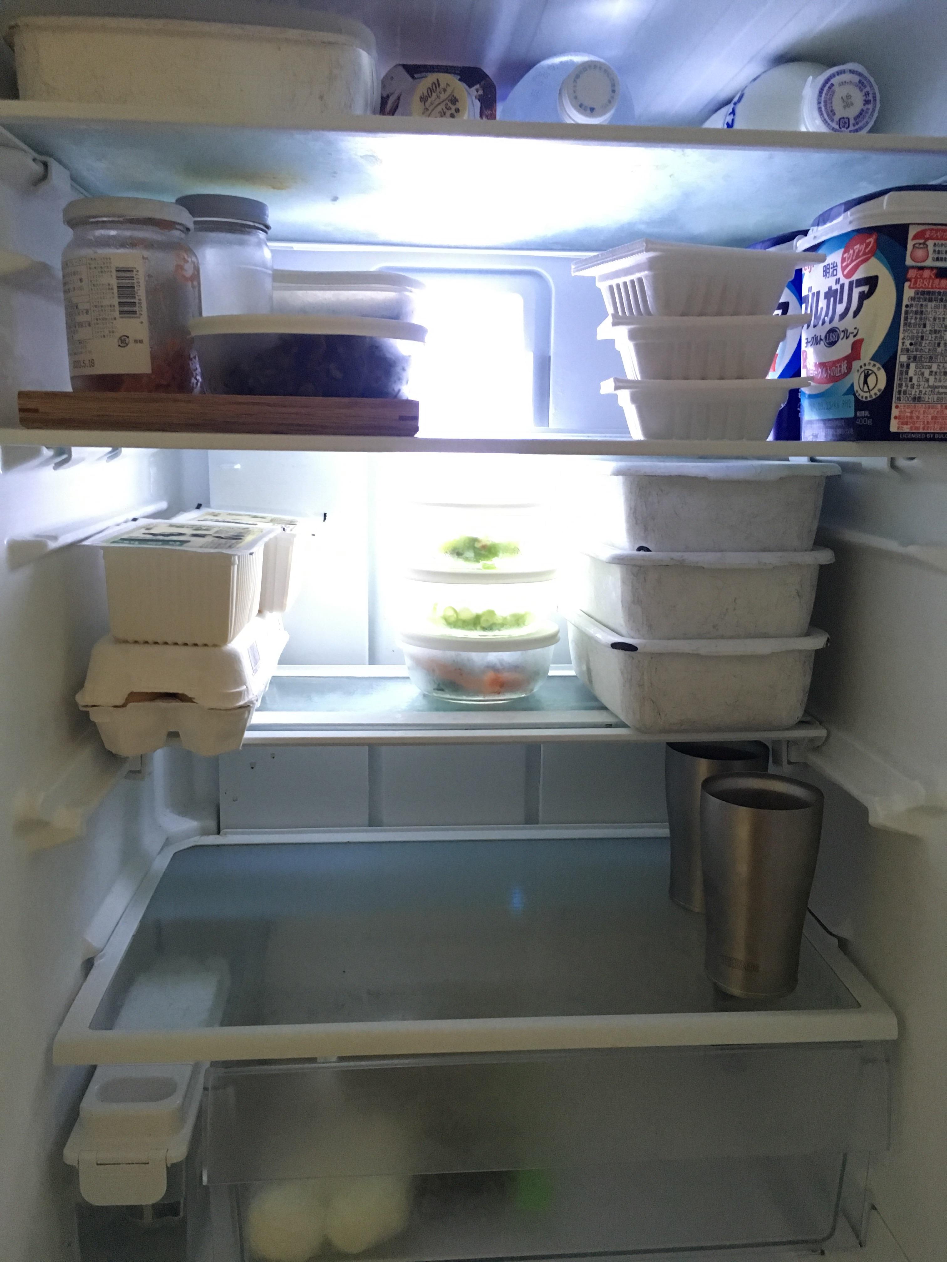 冷蔵庫 整理 中身 公開 ストック