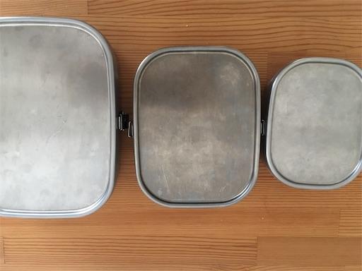 工房アイザワ ステンレス 弁当箱 フードボックス