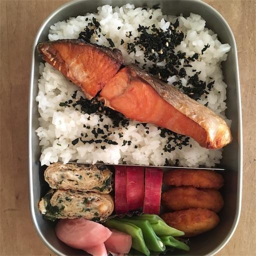 工房アイザワ ステンレス 弁当箱 お弁当 ランチボックス 男子 中高生 焼き魚 鮭
